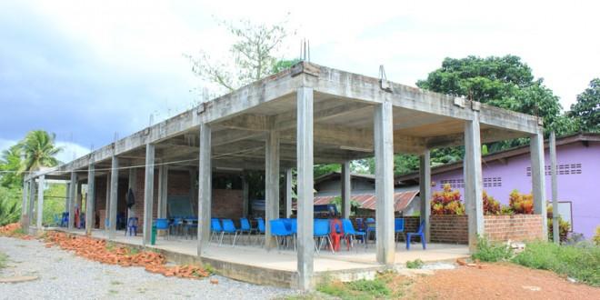 ขอเชิญร่วมงานการกุศล มัสยิดฮิดายาตุดดีนียะฮ์ บริจาคเงินเพื่อก่อสร้างอาคารเรียนหลังใหม่