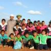 กิจกรรมการแข่งขันกีฬาของนักเรียน ในงานการกุศลของมัสยิด