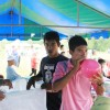 เยาวชนมุสลิมบ้านเกาะใหญ่ ร่วมมือร่วมใจกันจัดกิจกรรมกิจกรรมอีดิลอัฎฮา (รายา) สัมพันธ์