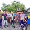 เยาวชนมุสลิมบ้านเกาะใหญ่ ร่วมแรงร่วมใจพัฒนาสองข้างทางในหมู่บ้าน